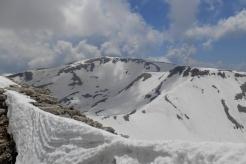 Monte Amaro, seen from the east ridge of Monte Rotondo