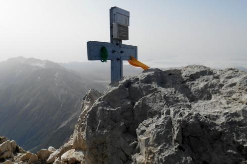 Summit cross of Corno Grande - Vetta occidentale (2912m)