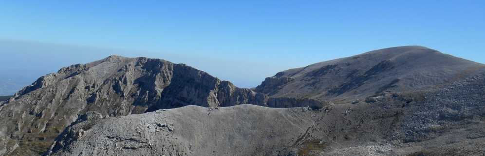 Cima delle Murelle and Mt. Acquaviva (foresummit)