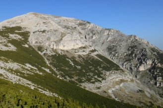 East face of Mt. Acquaviva