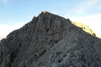 The summit at sunset