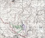 Monte Miletto - IGM map 1:25000