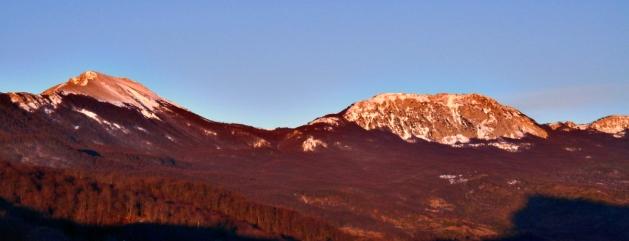 Serra Dolcedorme & Serra delle Ciavole at dawn
