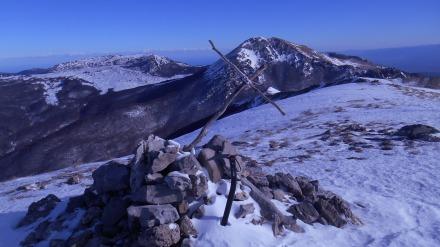 Serra del Prete - the summit