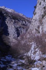Descending 'Valle di Santo Spirito'