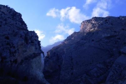The gorge again