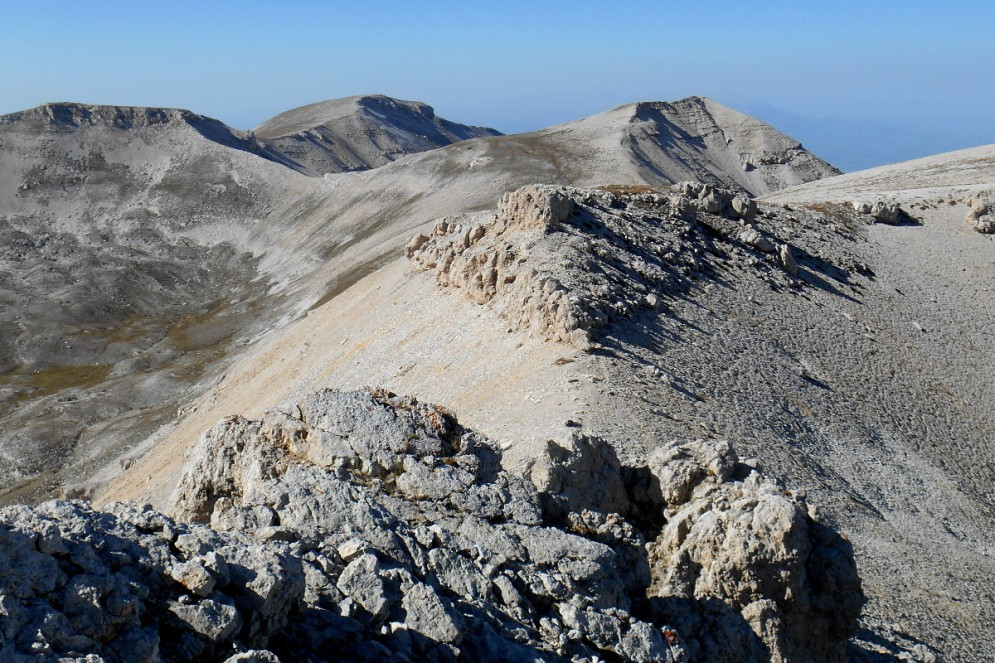Monte Pescofalcone & Monte Rotondo (from the summit)