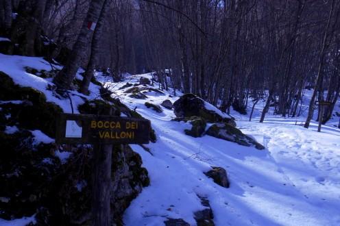 Bocca dei Valloni (February)