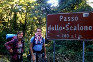 Passo dello Scalone (740m)