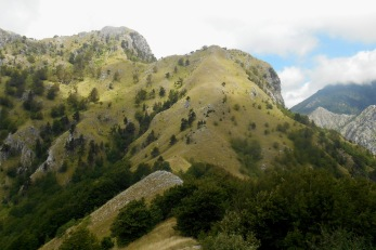 Monte Canitello (from the south)